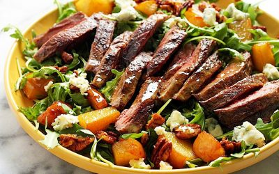 Oriental Grilled Skirt Steak Salad