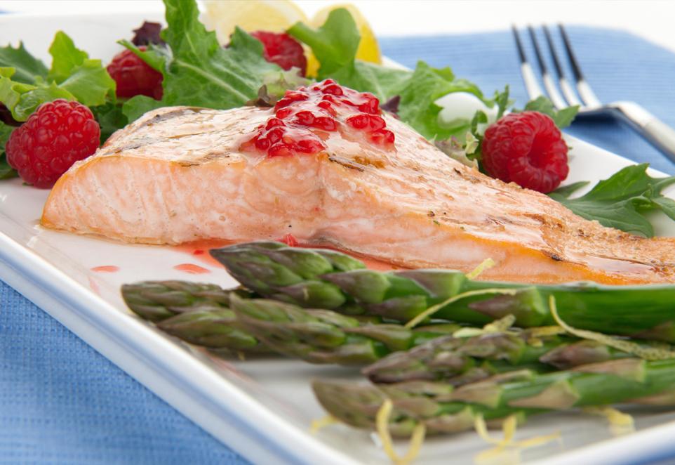 Salmon Framboise